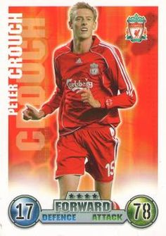 2007-08 Topps Premier League Match Attax #159 Peter Crouch Front