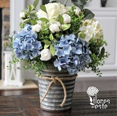 #Hydrangeas are freshness and #harmony in all #spaces.   #FloresDelEste #Nature #Beautiful