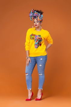 Look at this Fashionable african fashion outfits African Fashion Designers, African Print Fashion, Africa Fashion, Modern African Fashion, Ankara Fashion, African Attire, African Wear, African Women, African Style
