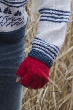 Aikuisen neulotut kynsikkäät Novita Nalle | Novita knits