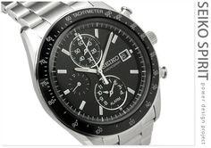 smart everyday watch. Seiko Power Design Chronograph SBPP003/SBPP001