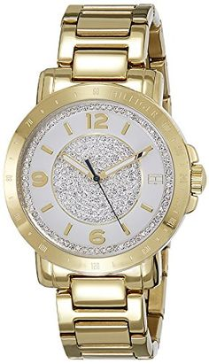 Tommy Hilfiger Analog Multi-Colour Dial Women\u0027s Watch - TH1781623J  sc 1 st  Pinterest & A classic gold thread Titan Raga Womenu0027s #Watch | Watches ...