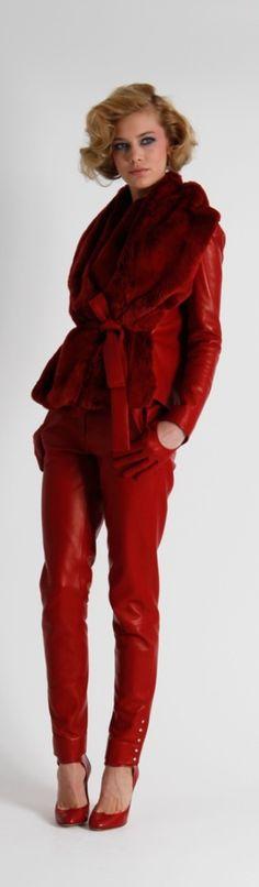 Paris Fashion Week 2012: Azzaro FW 2012 - red