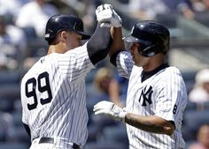 Leave It To Yankees' Aaron Judge & Gary Sanchez, the Baby Bombers, To Save MLB's Day
