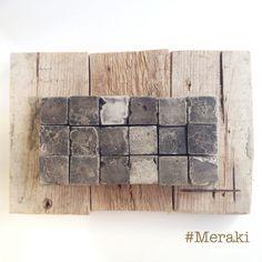 My Meraki - | Trittico | Cemento, acrilico, legno da cassero.