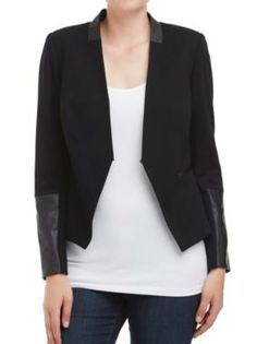 Sussan - New In - My 10 Minute Wardrobe - Splice tuxedo jacket $129
