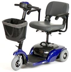 Spitfire 1310 3-Wheel Compact Mobility Scooter - Drive Medical #mobilityscooter #drivemedical