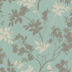 Arthouse Eco Divine Motif Shimmer Effect Blue Wallpaper | Departments | DIY at B&Q