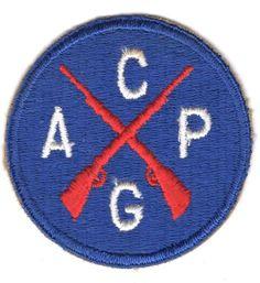 World War II civil air patrol guard patch