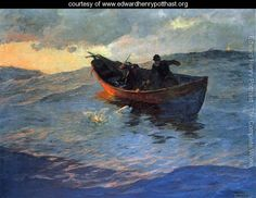 Struggle for the Catch - Edward Henry Potthast - www.edwardhenrypotthast.org