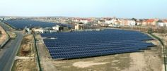 REC mit sechs Megawatt Solarkraftwerk in Bitterfeld