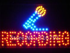 Recording On Air Microphone Decor Led Sign
