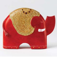 Govinder Small Elephant Sculpture by Govinder Small Elephant, Elephant Sculpture, Elephant Figurines, Art Uk, Types Of Art, Fashion Backpack, Sculptures, Presents, Fine Art