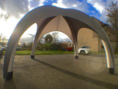 Windstand best seller : Inflatable tent 5x5 meter