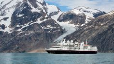 Silver Explorer Off the Coast of Greenland ~ Silversea Expeditions Sails Inaugural Cruise and Plans New Refurbishments   Popular Cruising (Image Copyright © Silversea Cruises)