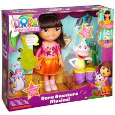 Dora the Explorer Musical Adventure Dora & Boots Playset Dora Boots, Dora The Explorer, Fisher Price, Musicals, Lunch Box, Adventure, Products, Toys, Characters