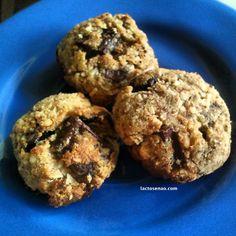 Receita saudável e deliciosa de cookies de amêndoas sem lactose e sem glúten (aproveitando resíduo do leite de amêndoas caseiro)