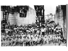 Obreros en la construcción del Canal de Panamá, c. 1912. | Estrella de Panamá