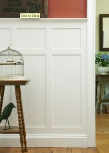 80 best walls, board and batten, wainscoting images on Pinterest in Wainscoting High on high ceilings, dado rail, high desks, high baseboards, high bars,