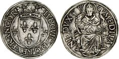 NumisBids: Numismatica Varesi s.a.s. Auction 65, Lot 434 : MILANO - LUDOVICO XII D'ORLEANS (1500-1513) Grossone. D/ Stemma...
