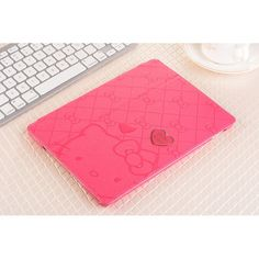 9.7 Inch Hello Kitty Tablet Leather Cases For iPad Air2 Cartoon Character Shockproof Anti-Dust Holster Protection Shell