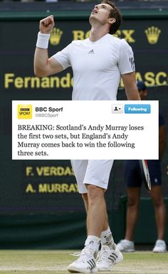 The Internet's 20 Funniest Andy Murray Jokes   The Internet's 20 Funniest Andy Murray Jokes