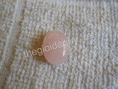 Mặt nhẫn Oval thạch anh hồng #jewelry #PinkQuartz #Quartz #Crystal- Mặt nhẫn đá phong thuỷ 0909.468.057