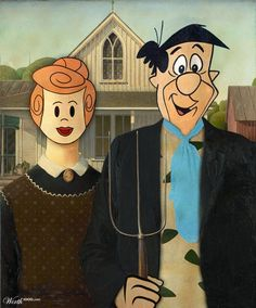 Fred and Wilma by frank1956