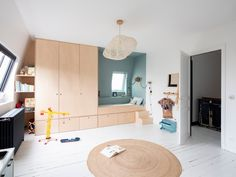 Creative Kids Rooms, Kids Bedroom, Bedroom Decor, Kid Spaces, Kid Beds, Small Living, Boy Room, Furniture, Home Decor