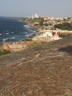 View from El Morro fort, PR