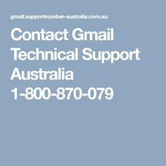 Contact worlds Gmail Customer Helpline Australia and get instant support & services for any kind of Gmail technical issues by dialing toll-free Gmail contact Number Australia