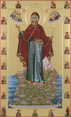 Παναγία η Ηγουμένη Αγίου Όρους / Theotokos the Abbess of Mount Athos