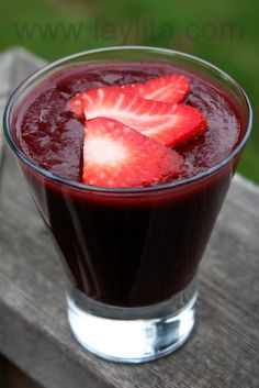 Colada morada, an Ecuadorian drink typically prepared for el Dia de los Difuntos or Day of the Deceased (Nov 2)