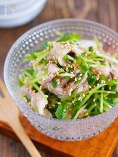 やみつき♪『豚こまと豆苗のうまだれサラダ』【#作り置き】 by Yuu | レシピサイト「Nadia | ナディア」プロの料理を無料で検索