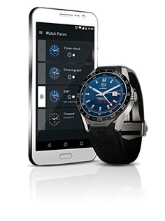 cool tech TAG Heuer lanza Connected, el primer reloj de lujo del mundo con Android Wear