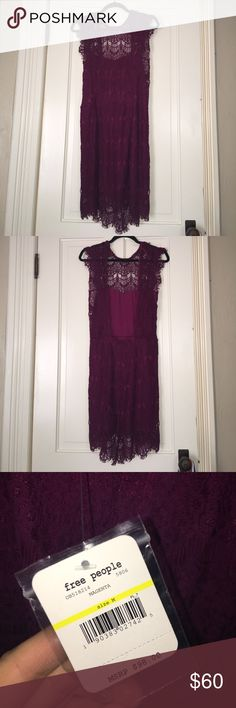 free people dress brand new, never worn free people open back dress. the dress is absolutely gorgeous, it's just too big for me :( my loss is your gain! make a reasonable offer Free People Dresses Midi