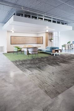Welcome to Nutopia, a Living Product Challenge Petal Certificatied carpet plank collection perfect for wayfinding and defining spaces within the built environment.