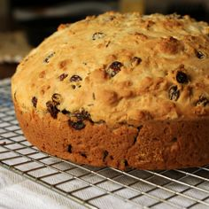 Bake a Great Grandmother's Soda Bread: Photo: Anna Monette Roberts Many St. Patrick's Days ago when I first started working for POPSUGAR, my colleagues Maggie and Lizzy Eisenberg brought in this Irish soda bread, courtesy of their mother, along with a huge tub of Kerrygold butter.