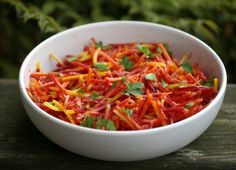 Carrot Salad - #BrunchWeek recipe from My Catholic Kitchen