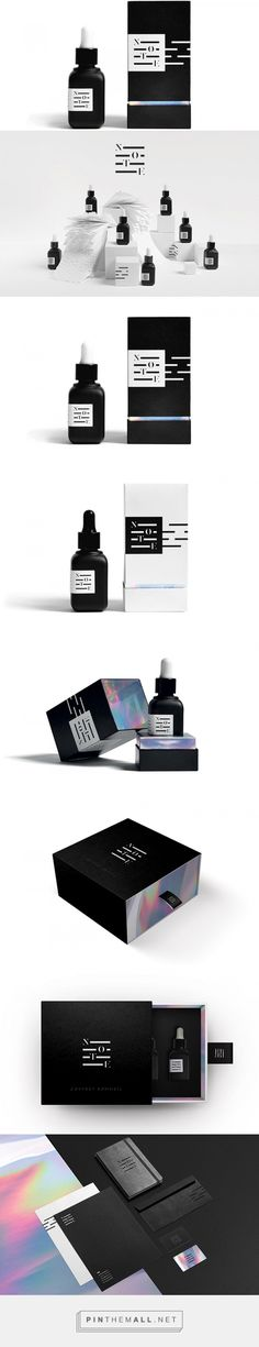 N O T E - aromatherapy - designed by Sophie Pulat Skincare Packaging, Beauty Packaging, Cosmetic Packaging, Cool Packaging, Bottle Packaging, Brand Packaging, Cosmetic Display, Cosmetic Design, Catalogue Design