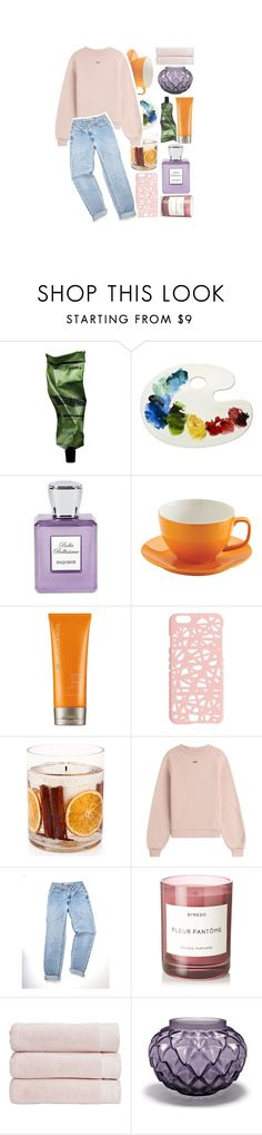 """🌸🍁 CUTE LiTTLE DETAiLS."" by ailurophile-lauren ❤ liked on Polyvore featuring Aesop, Bella Bellissima, Price & Kensington, Moroccanoil, Miss Selfridge, Stoneglow, Off-White, Byredo, Christy and Lalique"