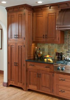 Cabinet doors - are you only after the look with the mullions added, or do you like the flush look?