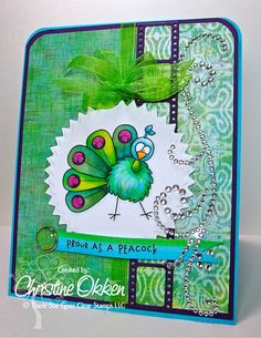 Created by Christine Okken!  Zoo-pendous Stamps by Whimsie Doodles