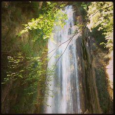 Oasi #WWF Valle della Caccia - Cascata naturale