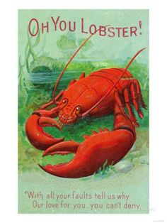 19 Consider The Lobster Of The Field Ideas Lobster Lobster Art Weird Vintage