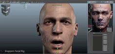 Snappers Facial Rig - VFX