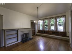 A lovely 1910 bungalow for sale in Albany, OR. Too bad the woodwork was painted. 522 7TH AVE, Albany, OR $360K.