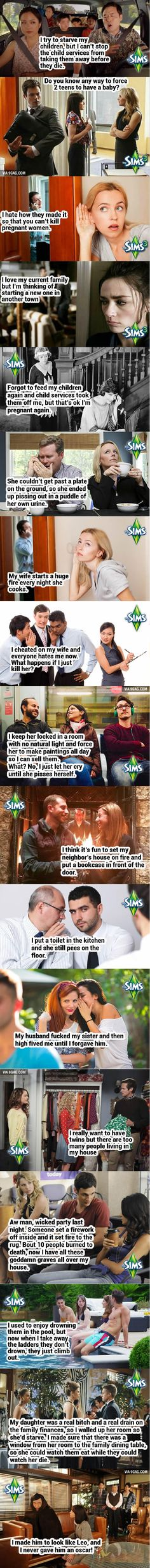 One Does Not Simply Discuss The Sims In Public XDDDDDDD The last one tho