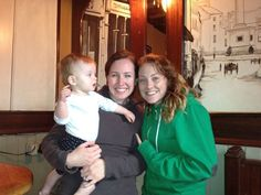 Meeting baby Clare in Co Clare!