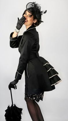 Welcome to Kitten D'Amour Steampunk Clothing, Steampunk Fashion, Gothic Fashion, Victorian Fashion, Retro Fashion, Vintage Fashion, Vintage Style, Pin Up Outfits, Fashion Outfits